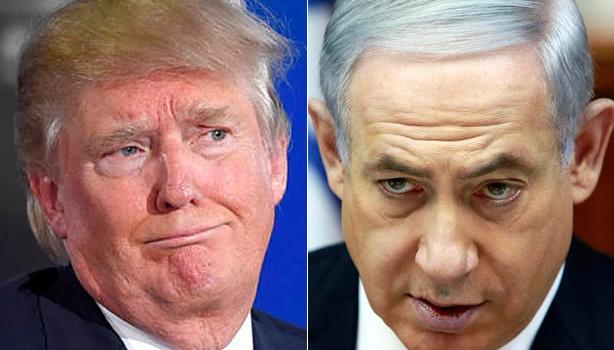 Risultati immagini per trump in israele